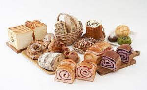 ブルーベリーブレットを含む人気のパン