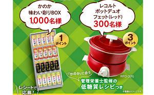 「かのか味わい彩りBOX」「レコルト ポット デュオ フェット レッド 」