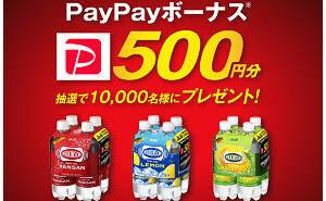 PayPayボーナス500円分