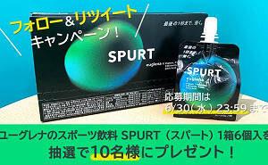 SPURT ゼリー飲料タイプ