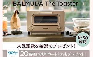 バルミューダ ザ・トースター
