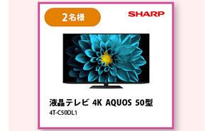 液晶TV 4K AQUOS 50型